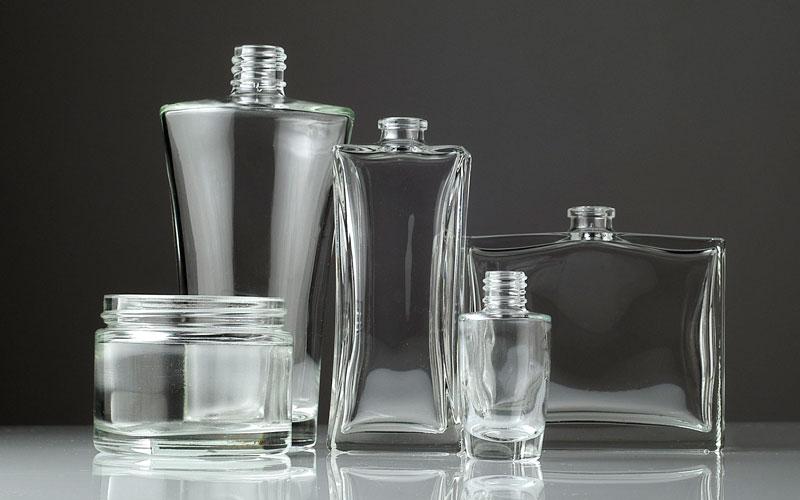 flacon cosmétique en verre