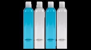 flacon cosmétique en plastique